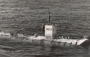 Tiefsee-U-Boot ''Trieste''