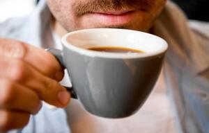 Kaffee, Mann