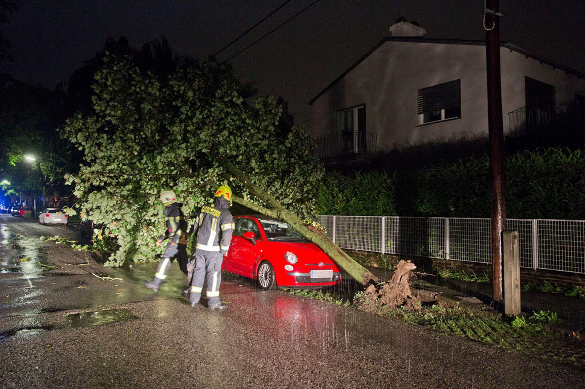 Bild zu Erneute Unwetter in Österreich