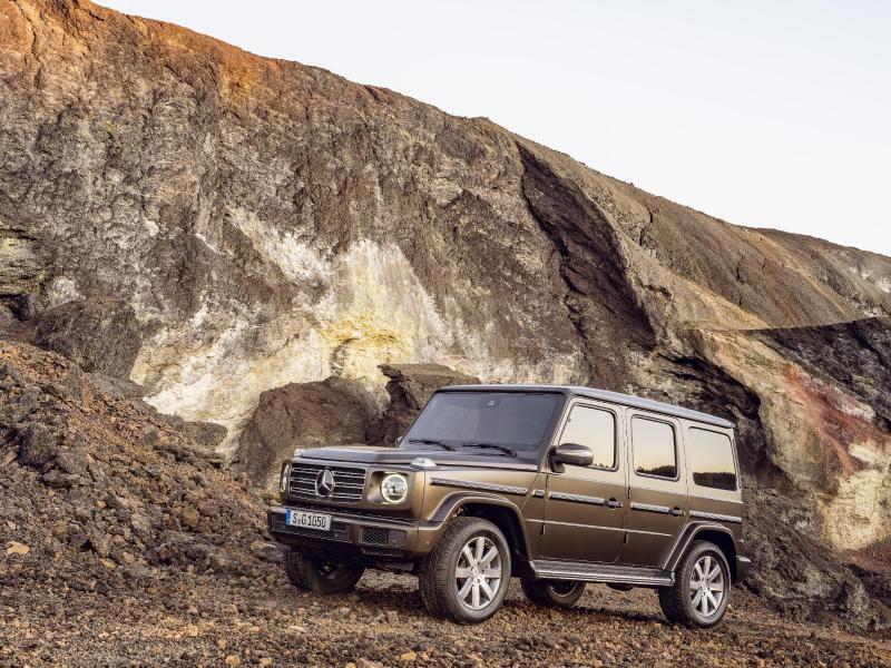 Bild zu Mercedes G-Klasse G 500
