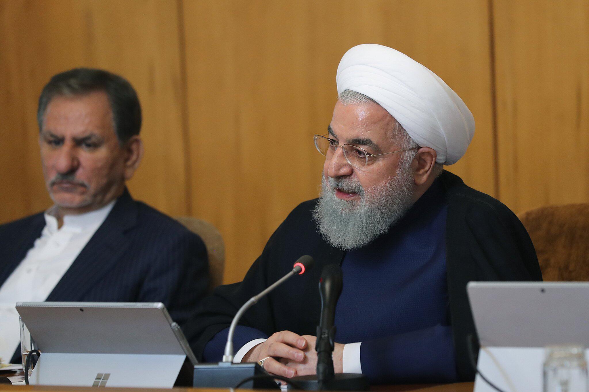 Bild zu Kabinettssitzung in Teheran
