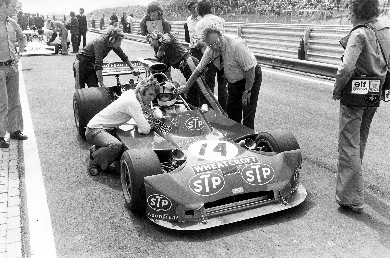 Bild zu Max Mosley, Roger Williamson, Tom Wheatcroft, March-Ford, 1973, Formel 1, Zandvoort