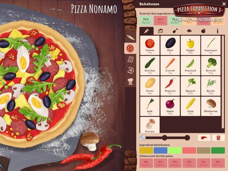 """Bild zu Spiel """"Pizza Connection"""""""