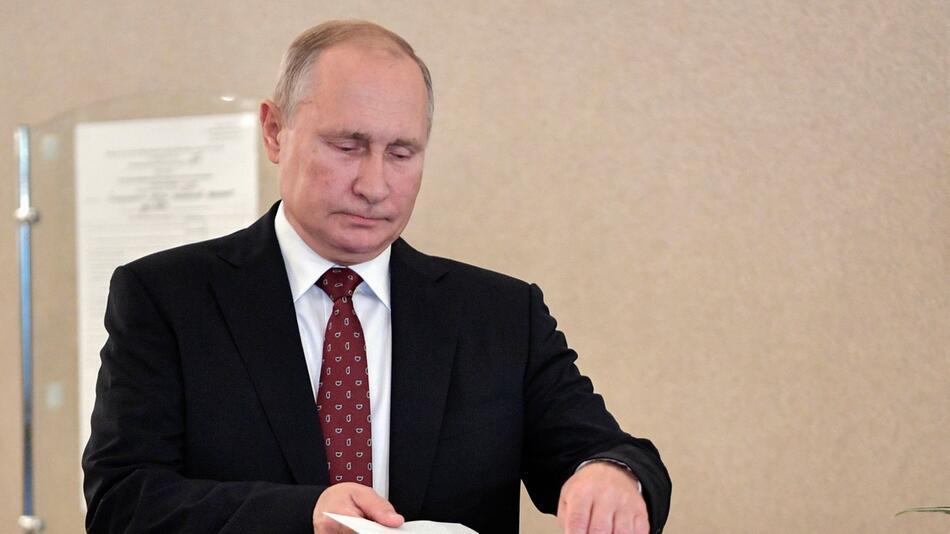 Regionalwahlen - Wladimir Putin