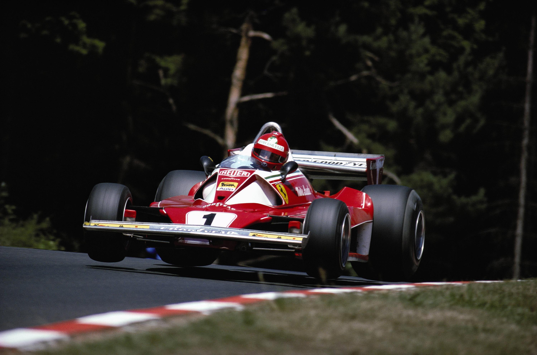 Bild zu Niki Lauda, Ferrari, Formel 1, 1976, Nürburgring, Großer Preis von Deutschland