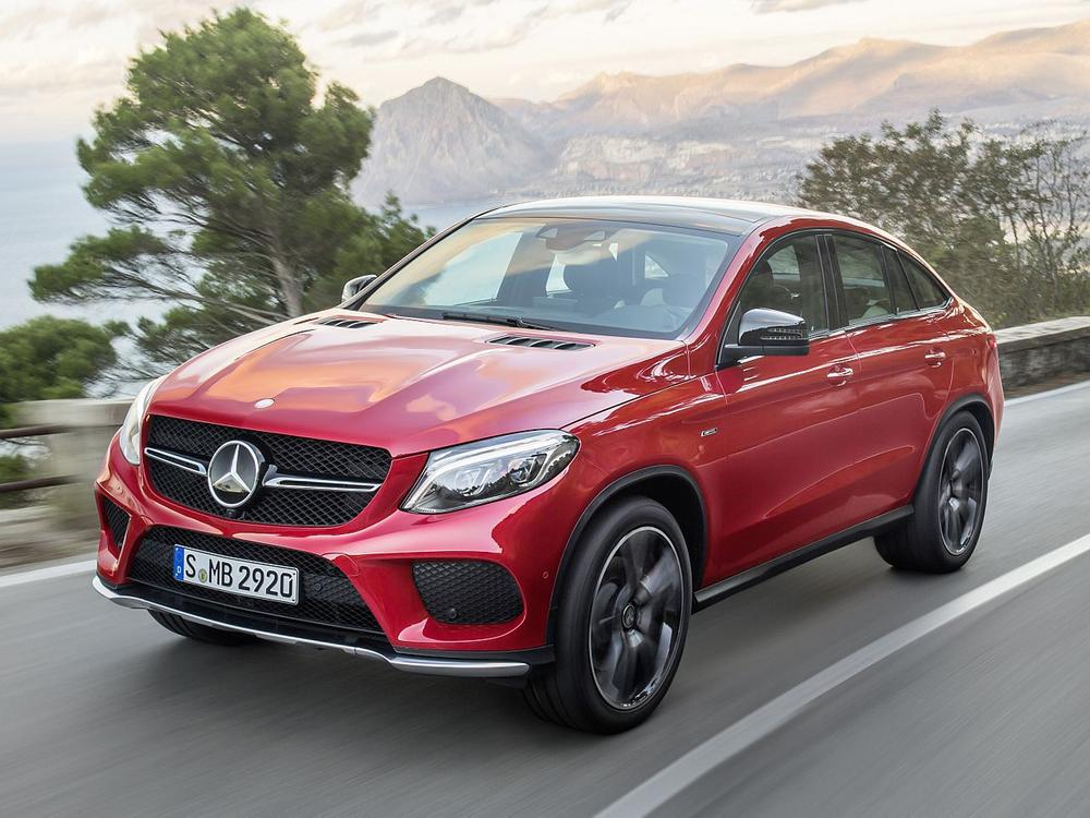 Bild zu Mercedes-Benz GLE Coupé