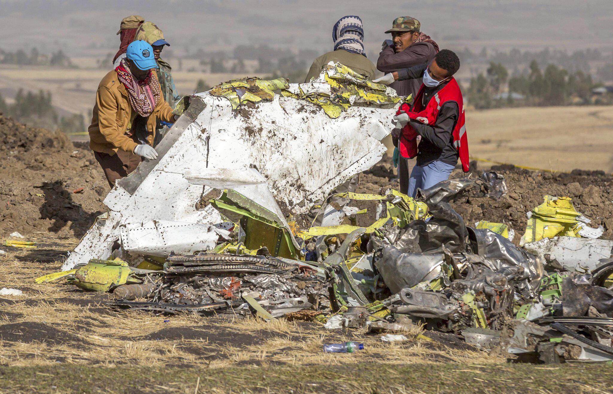 Bild zu Boeing, Absturz, Äthiopien, Addis Abeba, Boeing 737 Max 8, Bishoftu