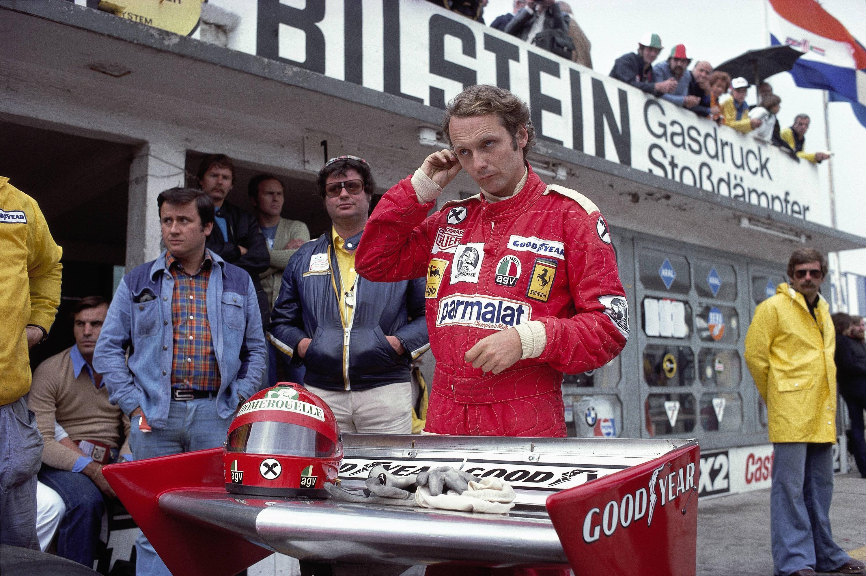 Bild zu Niki Lauda, Ferrari, Formel 1, Nürburgring, 1976