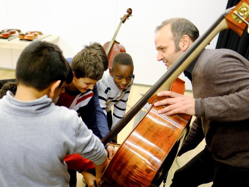 Bild zu Musikvermittlungs-Programm