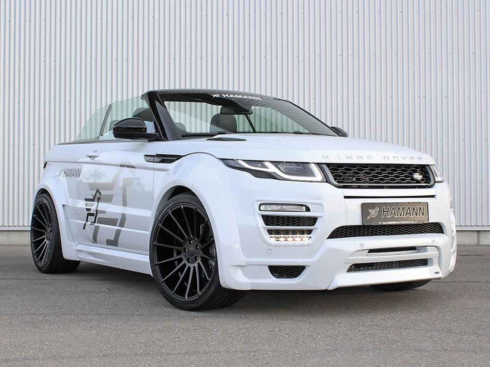 Bild zu Range Rover Evoque Cabrio von Hamann