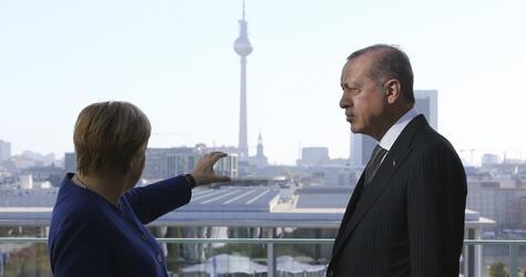 Türkischer Präsident in Deutschland - Kanzleramt