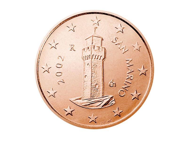Bild zu Cent-Münze von San Marino