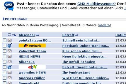 GMX-Screenshot E-Mail-Siegel