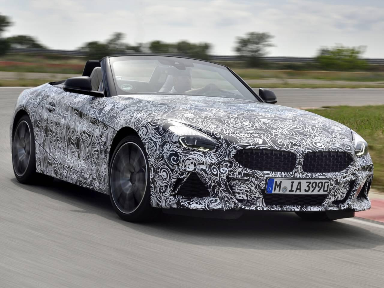 Bild zu BMW Z4 Prototyp