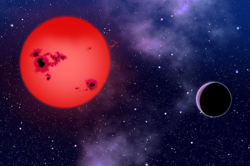 Bild zu Supererde GJ 1214b