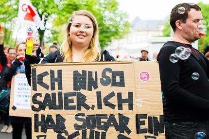 Protest in Hamburg