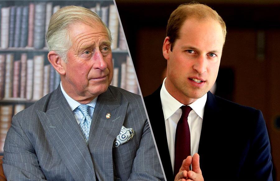 Bild zu Charles vs William