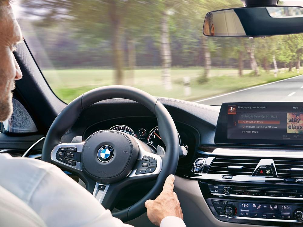 Bild zu Amazon Alexa im BMW