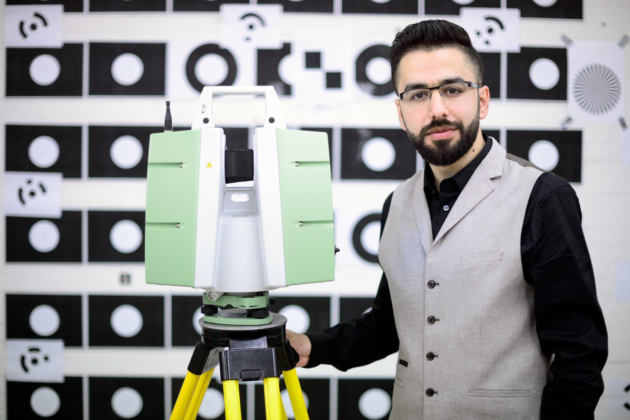 Bild zu Samer Karam will Palmyra scannen