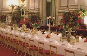 Essen wie die Queen: Royal Welcome im Buckingham Palace