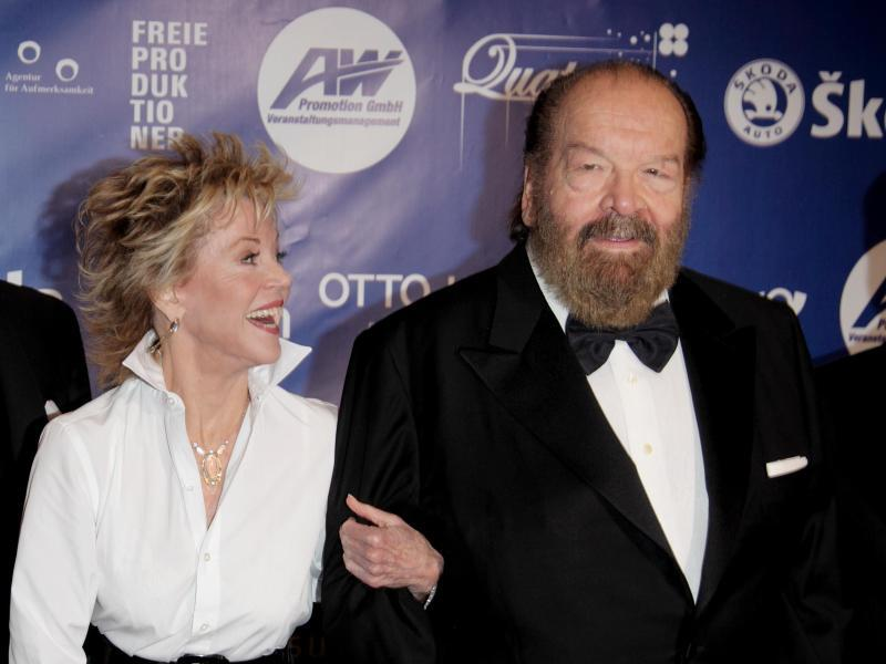 Bild zu Bud Spencer und Jane Fonda