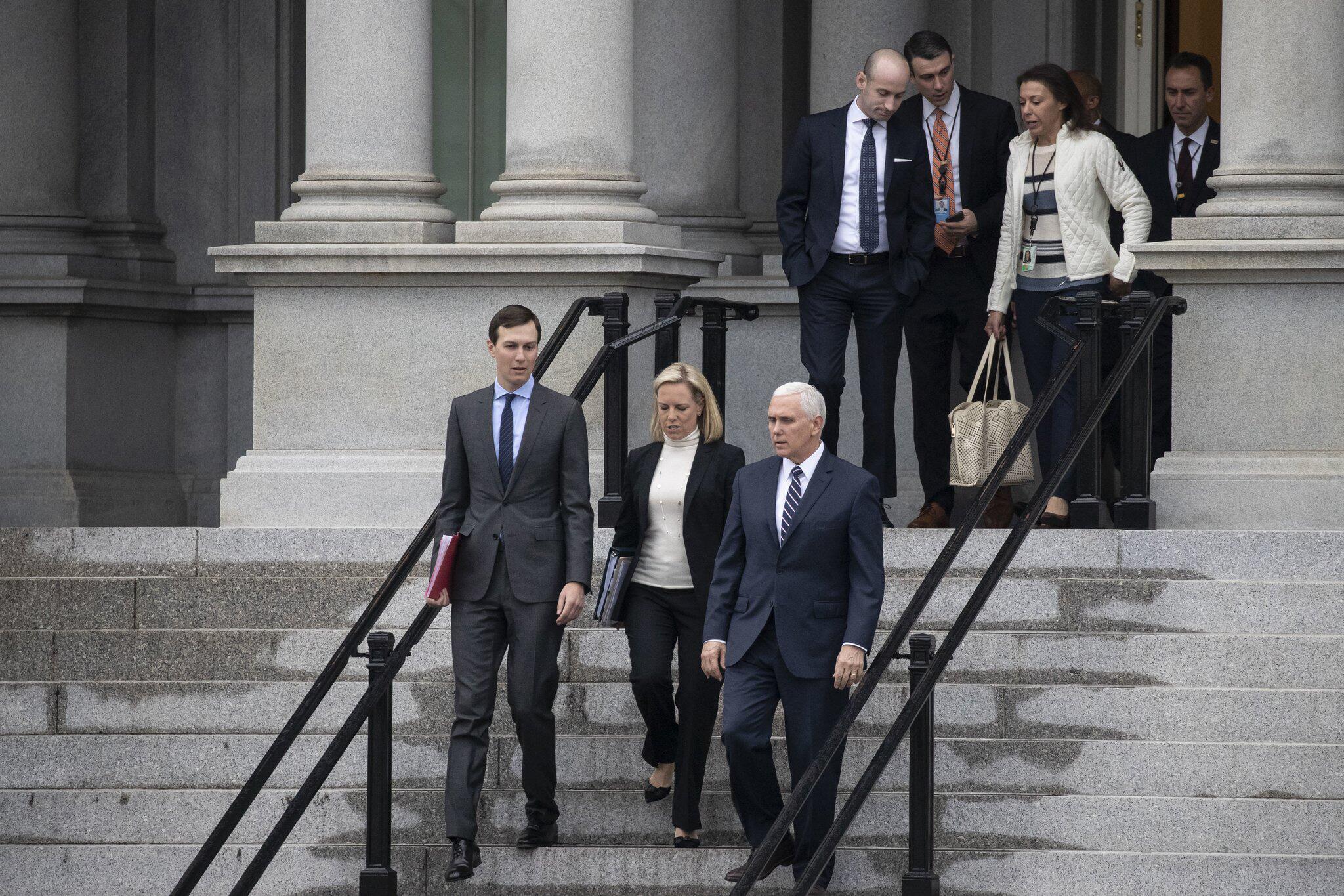 Bild zu Treffen zum Haushaltsstreit in den USA