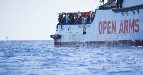 Seenotrettung im Mittelmeer - Proactiva Open Arms