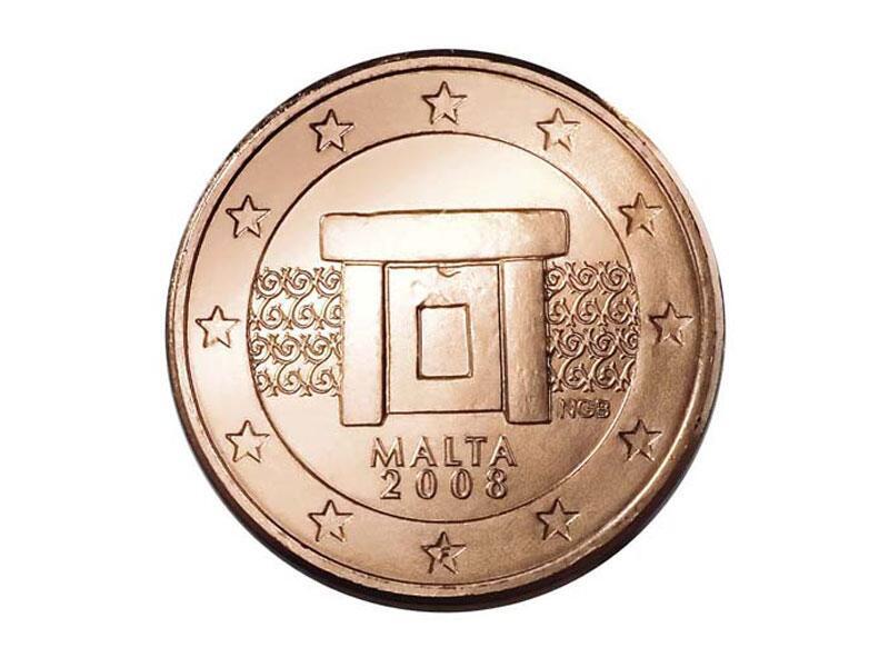 Bild zu Cent-Münze von Malta