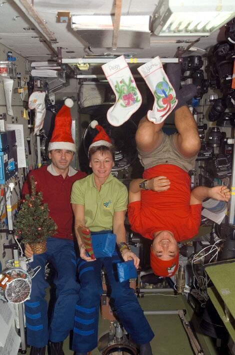 Bild zu Weihnachten im All