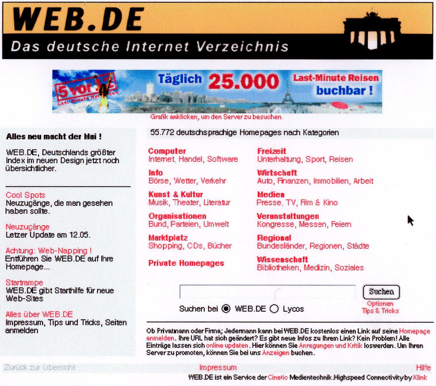 Bild zu WEB.DE