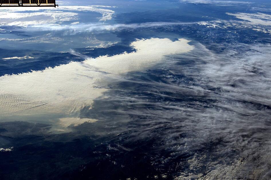 Bild zu Alpen aus dem Weltraum