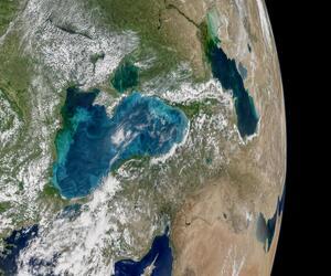 Schwarzes Meer aus dem All