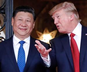 Donald Trump and Xi Jingping