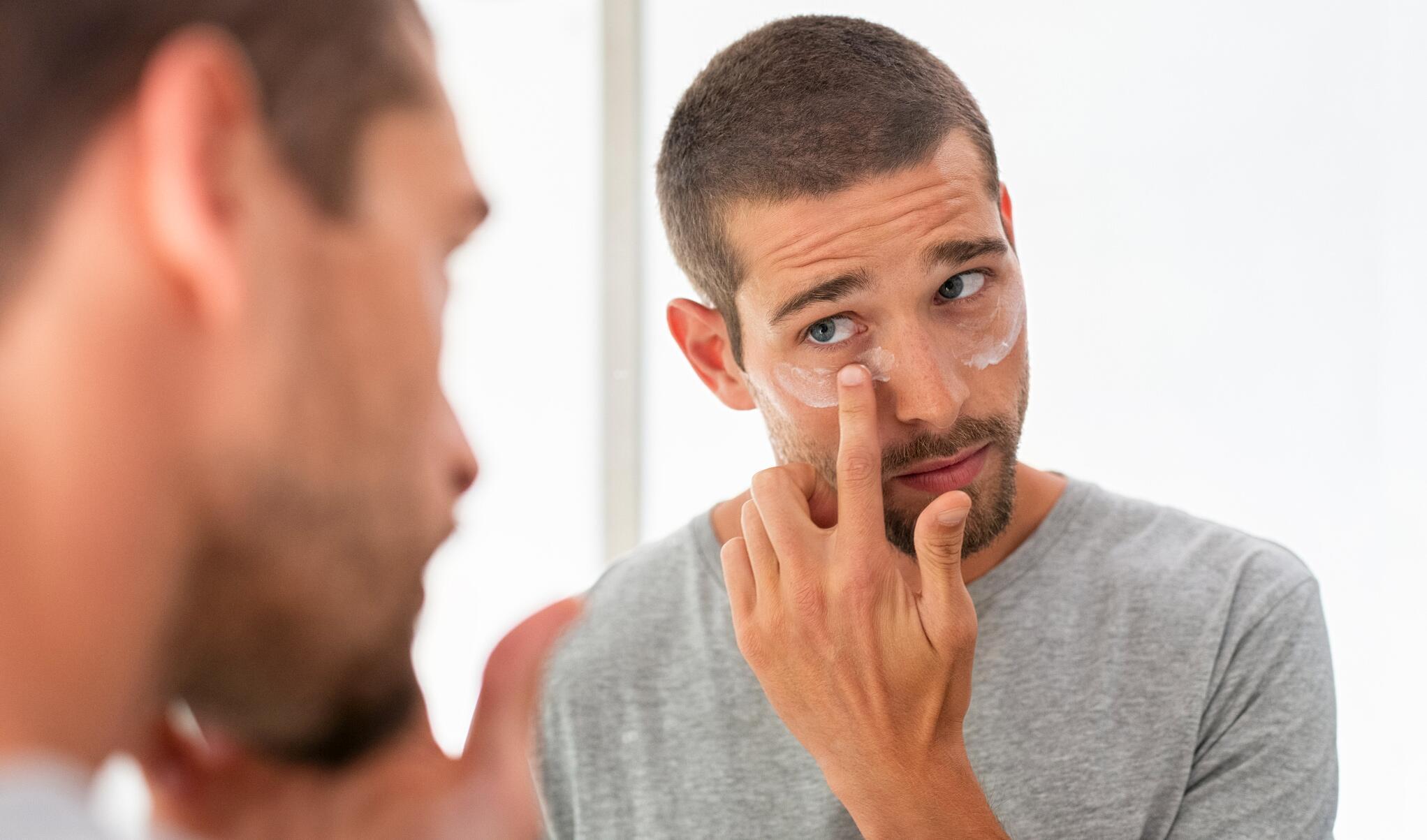 Bild zu männer, pflegeprodukte, bartpflege, anti falten creme, aftershave, shampoo