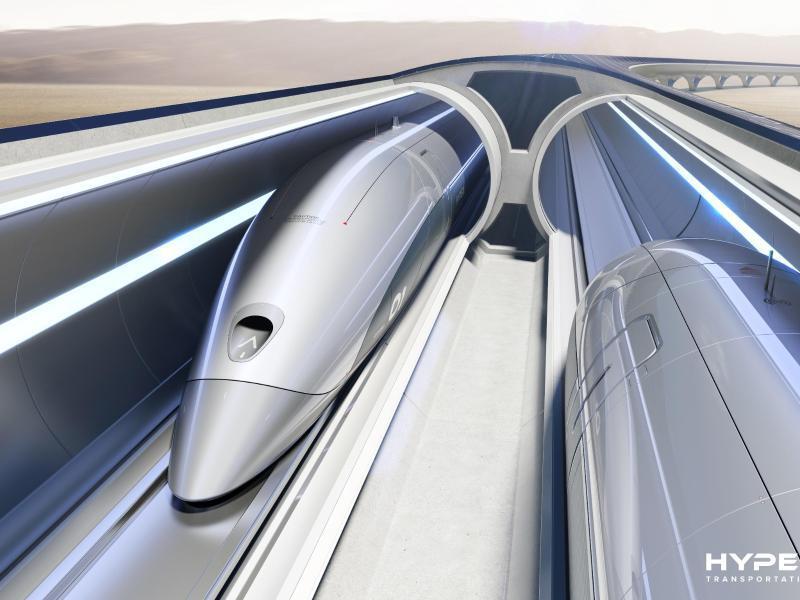 Bild zu Hyperloop-Modell