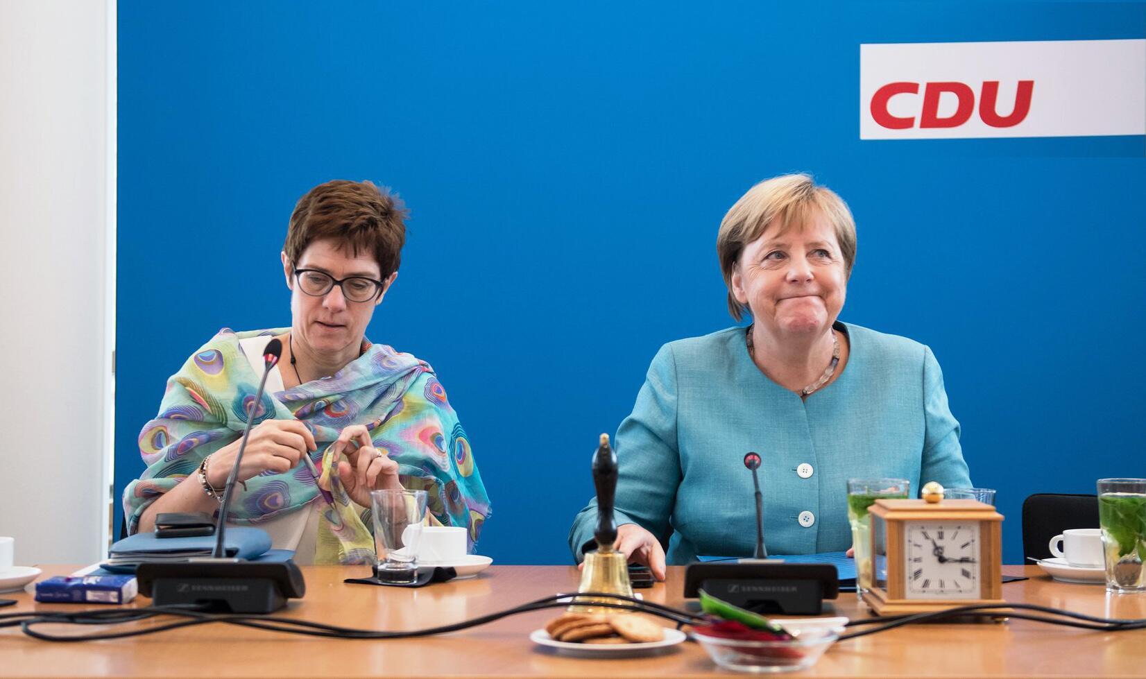 Bild zu CDU Federal Board Meeting in Berlin