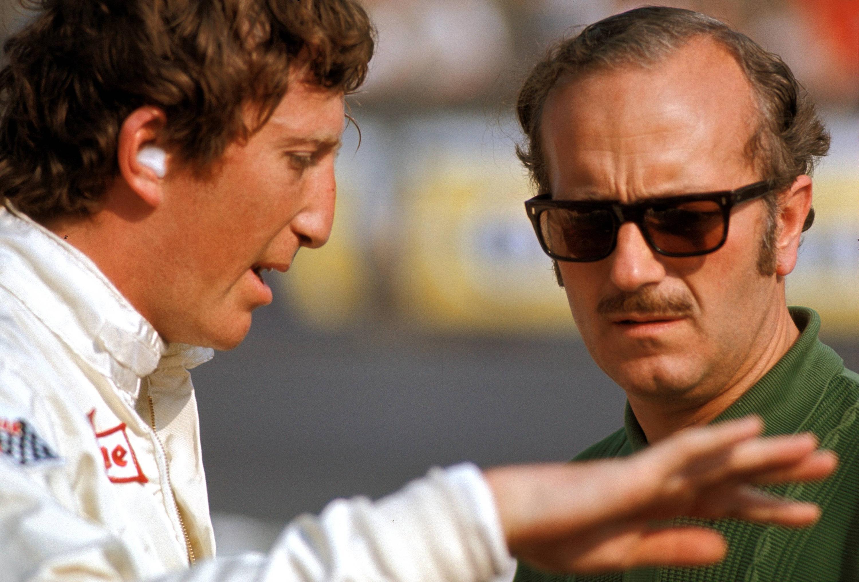 Bild zu Jochen Rindt, Colin Chapman, Lotus, Formel 1, 1970, Niederlande, Zandvoort