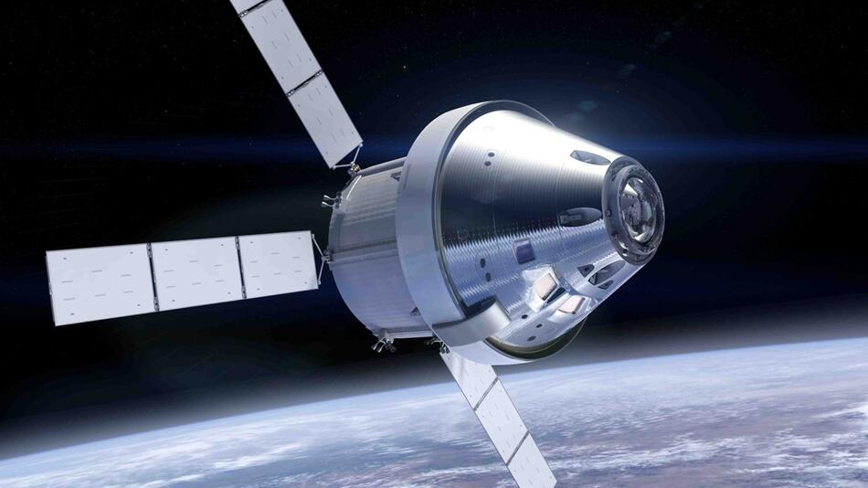 """Orion"" - Servicemodul mit Raumkapsel"