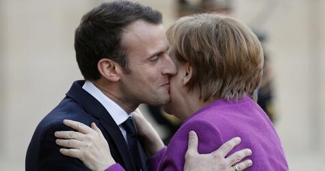 Bundeskanzlerin, Angela Merkel, Paris, Emmanuel Macron,