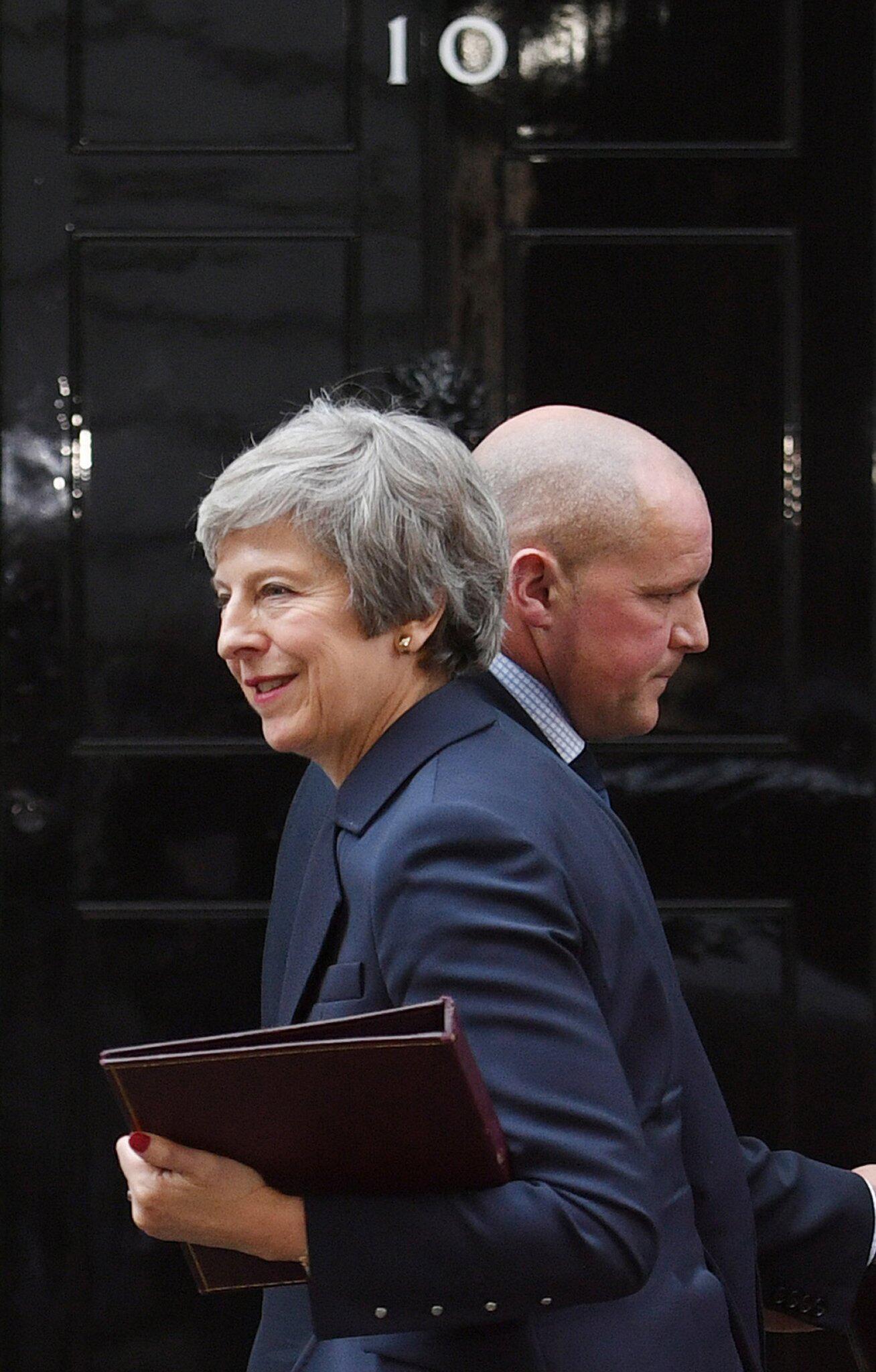 Bild zu Brexit - Kabinettssitzung London