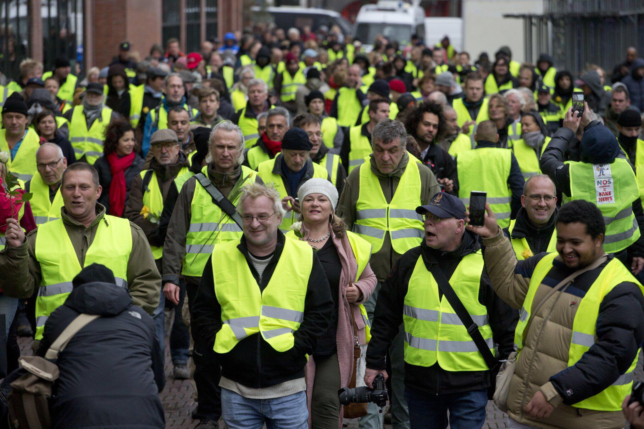 Bild zu Proteste in den Niederlanden