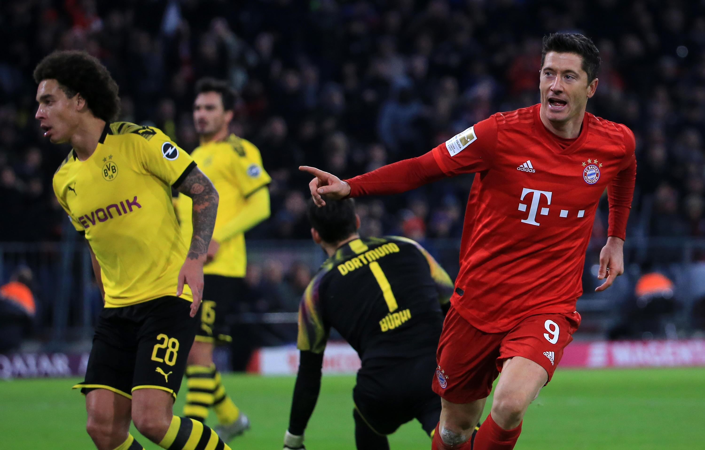 Bild zu FC Bayern, Borussia Dortmund, Robert Lewandowski, Axel Witsel, Mats Hummels, DFL
