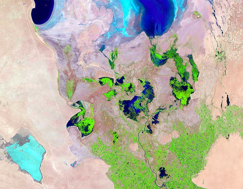 Bild zu Südlicher Teil des Aralsees 2010