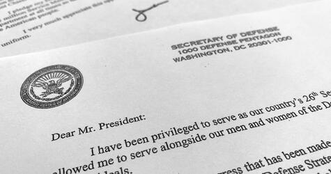 James Mattis Rücktrittsschreiben