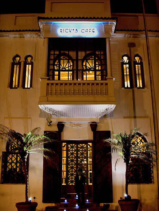Rick´s Café auf Casablanca