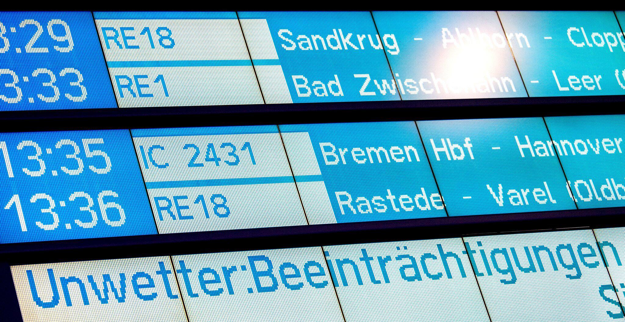 """Bild zu Sturmtief """"Sabine"""" - Oldenburg"""