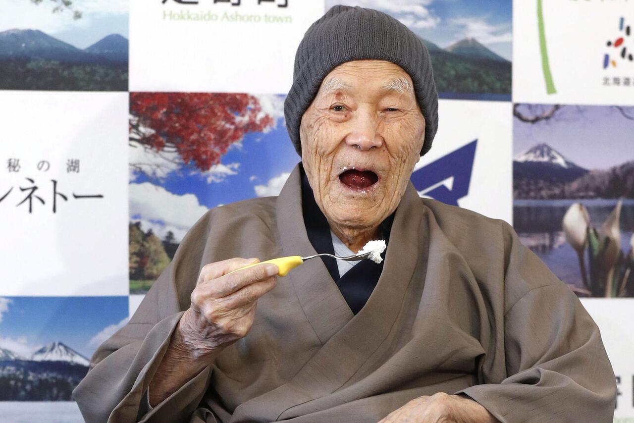 Bild zu Ältester Mann der Welt
