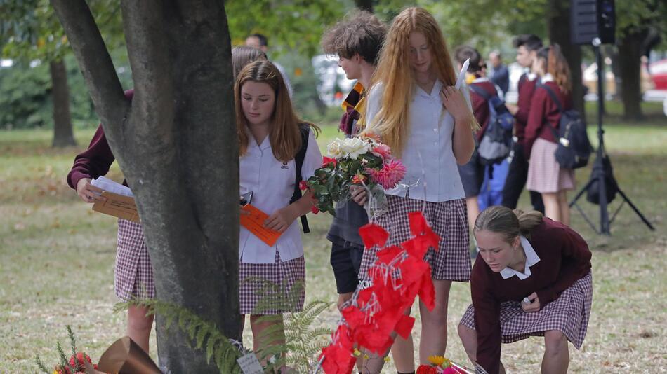 Gedenken an Opfer des Terroranschlags von Neuseeland