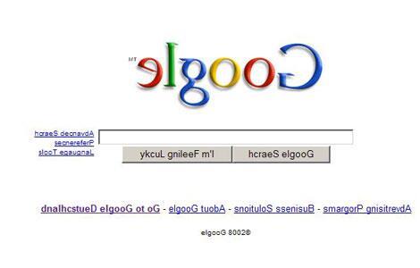 Bild zu Google einmal andersrum