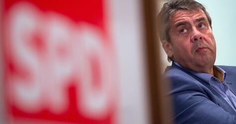 SPD-Wahlkampf mit Sigmar Gabriel